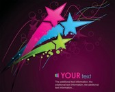Stock Illustratioins: Colorful Abstract Vector Backgrounds