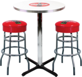 Diner Table Stools PSD