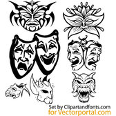 MASKS VECTOR PACK.eps