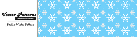 Festive Seamless Winter Vector Pattern