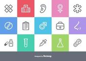 Free Medical Outlined Vector Icons