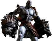 Kratos with Gauntlets PSD