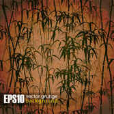 Retro bamboo forest background001