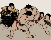 Old Sumo Wrestlers