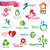 Beauty and natural element icon