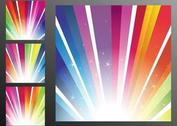 Rainbow Rays Background