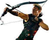 The Avengers-Hawkeye PSD