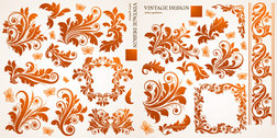 Beautiful Butterfly Pattern Vector Graphic Of European