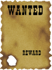 Blank Wanted Poster 2 PSD