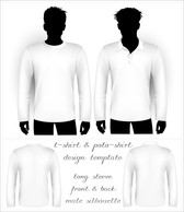 Blank Tshirt Shirt And Polo Shirt