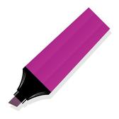 PINK MARKER VECTOR GRAPHICS.eps