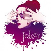 Stock Ilustration Girl Joker
