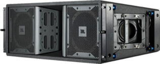 Black JBL Concert Stage Speakers PSD