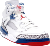 Air Jordan Spiz'ike White / Red / Blue 2 PSD