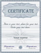 Gorgeous Diploma Certificate Template 01