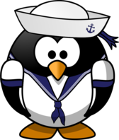 Sailor penguin