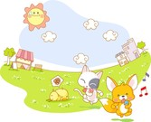 Cute Animal Theme Of Life Lt2Gt
