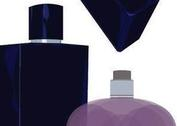 Bottle Vectors - Pink Perfume & Blue Cologne