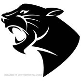 PANTHER HEAD VECTOR IMAGE.eps
