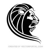 LION SILHOUETTE VECTOR.eps