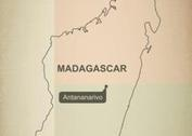 Free Vector Map of Madagascar