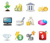 Finanzen-Investment-Icons