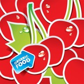 Vector Lovely Fruit Stickers