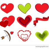 HEARTS FOR VALENTINE DAY.eps