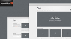 Theme. A free website (PSD)
