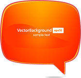Vector speech bubble for free download