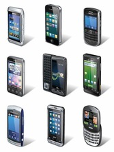 Smartphone Vector Set