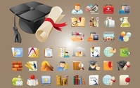 Education et Science Icon Pack