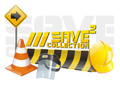 Workplace Construction Safety Vectors