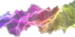 rainbow of smoke swirl abstract PSD