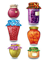 Beautifully canned fruit 01