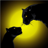BLACK PANTHERS VECTOR IMAGE.eps