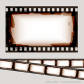Dirty Vintage Film Strips