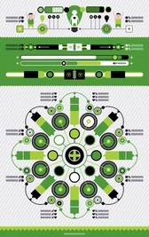 Infographic green