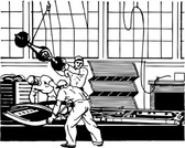 Manufacturing Line Workers