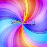 Abstract Rainbow Stripe