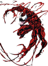 Carnage Marvel Character PSD