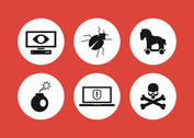Computer Threat Icons