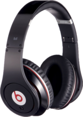Black Studio Beats by Dre PSD