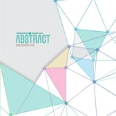 Abstract triangle shapes