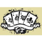 POKER ACES VECTOR GRAPHICS.eps