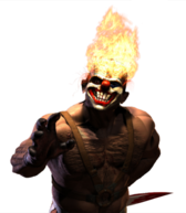 Clown Twisted Metal 3 Sweet Tooth PSD