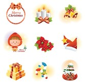 Vector Christmas Icon Set
