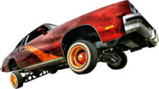 RED LOWRIDER CUT PSD