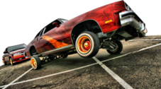 Lowrider On The Road2 PSD