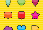 Shapes Balloon Vectors